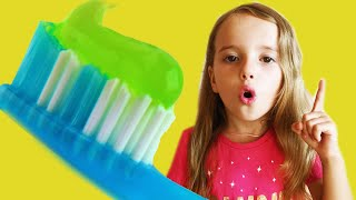 Brush Your Teeth! Kids Song Nursery Rhymes from Arina