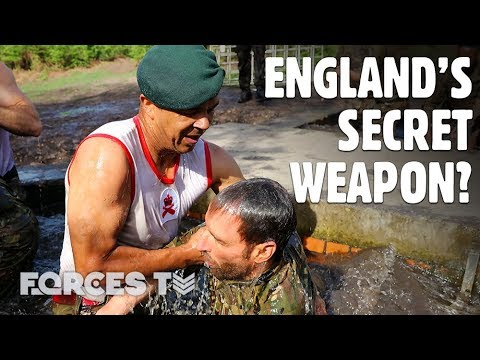 How This Royal Marine Inspired England To World Cup Semi-Finals | Forces TV
