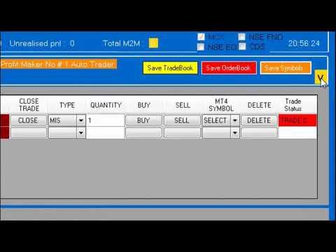 Aliceblue Api Algo Trading Excel Robo Auto Trading With