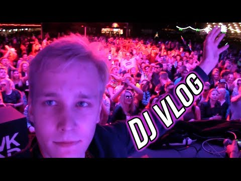 Playing @ Biggest EDM Festival in Scandinavia /w Deadmau5 & Thastor (DJ Vlog)
