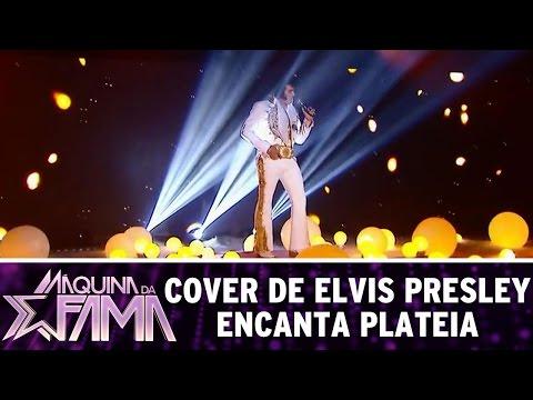 Máquina da Fama (15/08/16) - Cover de Elvis Presley encanta plateia em apresentação