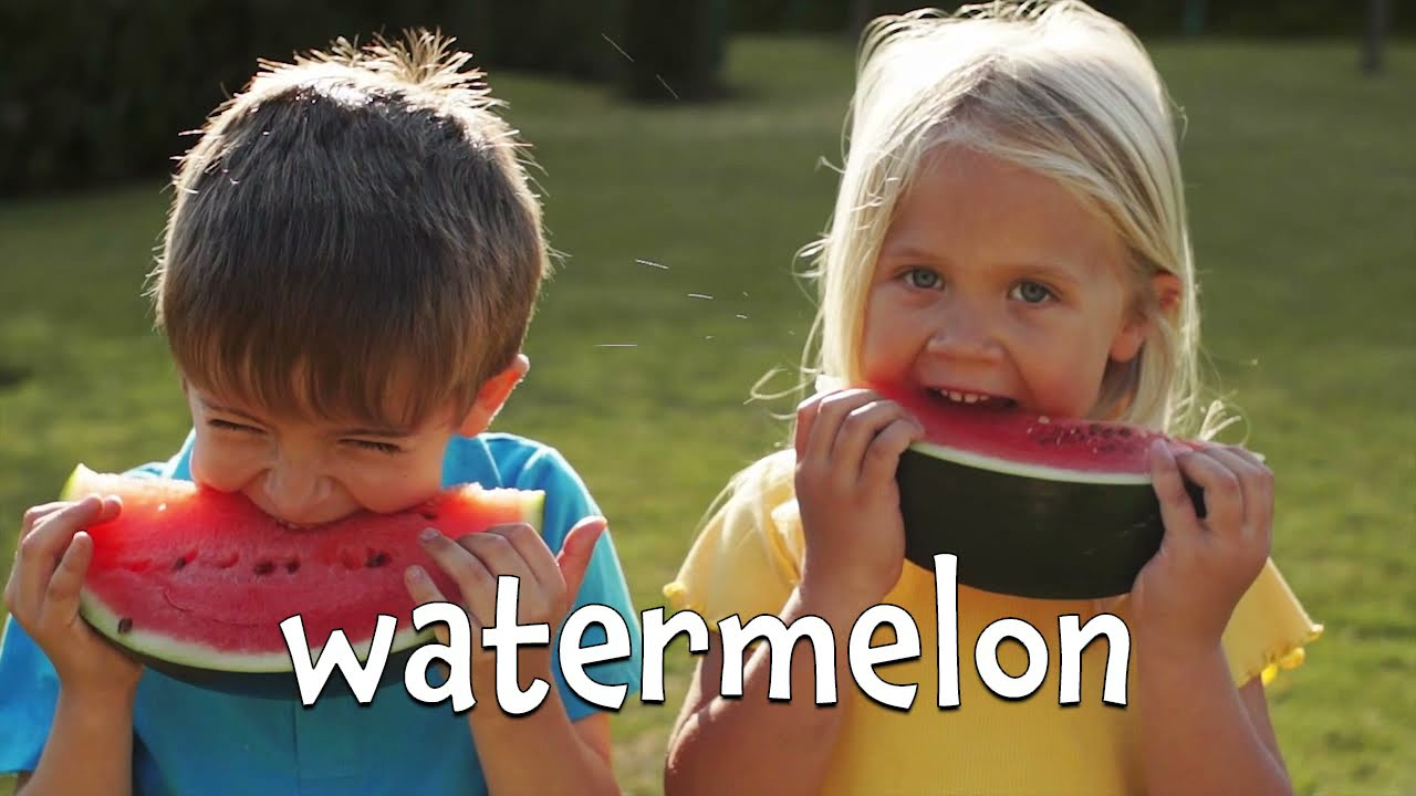 Summertime Foods! Learn the Names of Summer Food for Kids