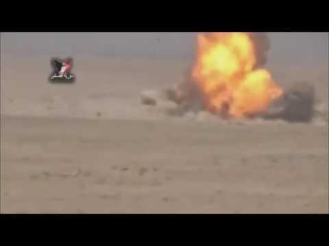 Suriye Ordusu Kaplan Kuvvetleri ATGM...