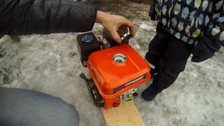 видео Электрическая часть двигателя Honda GX 100