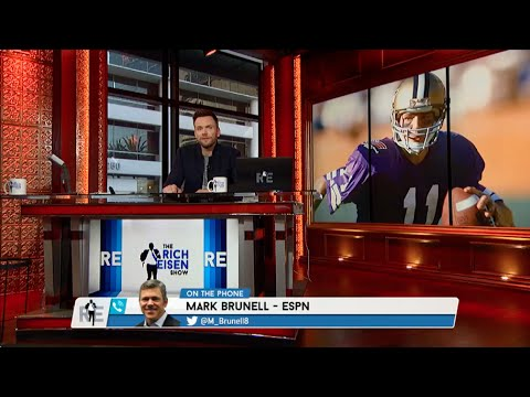 Former NFL QB Mark Brunell Calls The RES (Joel McHale Guest Hosts) - 11/7/14