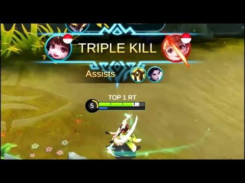 Chang'e Triple Kill | Mobile Legends WTF Funny Moments #3