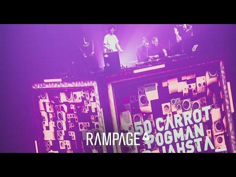 Rampage 2015 - 50 Carrot b2b Pogman b2b D Jahsta ft MC Tjek full set