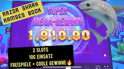RAZOR SHARK & RAMSES BOOK 10€ Einsatz Online Casino Slots Mega Win🔥Slot play on TV 2020 KINGLucky68