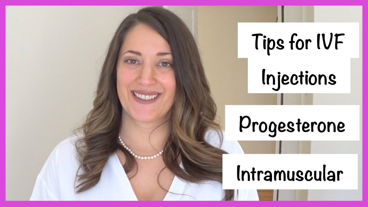 6 IVF Injection Tips | Progesterone Shots | Intramuscular | Delestrogen