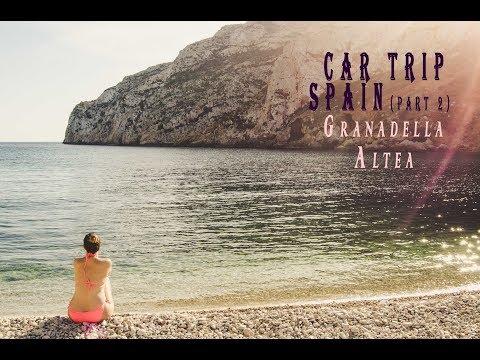 Car trip SPAIN, Granadella, Altea