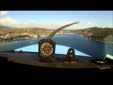 Landing in Skiathos-Greece