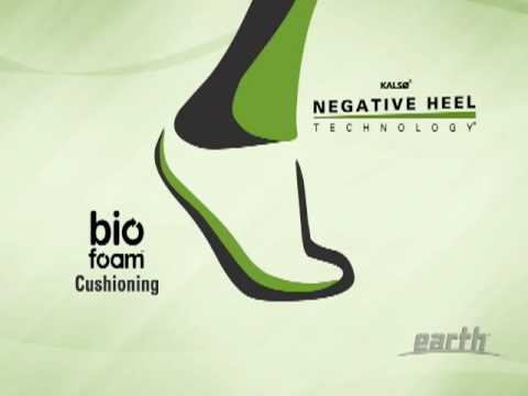 Earth's Kalso® Negative Heel Technology®