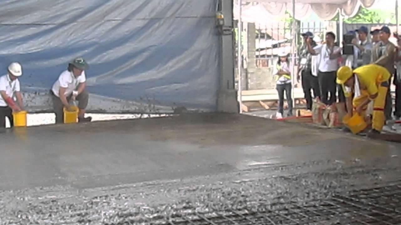 Superflat Demo 01 Laser Screeding Amp Floor Hardener Sika