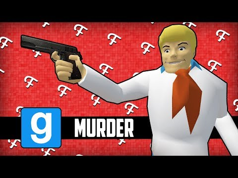 Gmod Murder: Diner Scooby Snacks, Finding Clues, Grocery Store! (Scooby Doo Edition - Comedy Gaming)