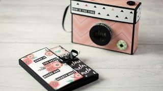 Tutorial mini álbum cámara de fotos