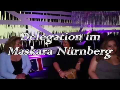 Sinti Feier Deligation im Maskara 6.10.2017 Nürnberg