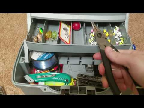 Basic Tackle In A Tackle Box