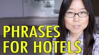 Korean Phrases 8: At the Hotel & Accommodations