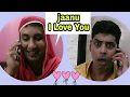 Jaanu I Love You ( Funny Call ) / Jokes in Hindi / Golgappa jokes !!!