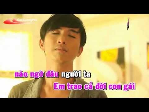 Mieng Luoi Dan Ong Karaoke - Vinh Thuyen Kim