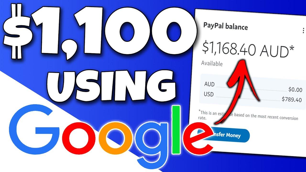 Copy & Paste To Earn $1,100+ Using Google (FREE) | Make Money Online