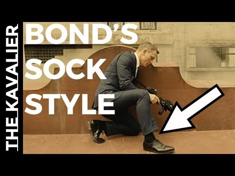 How to Pair Socks Like James Bond | Suits of James Bond