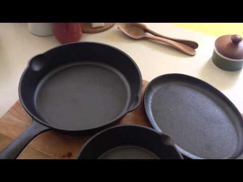 How I Season My Cast Iron Pans