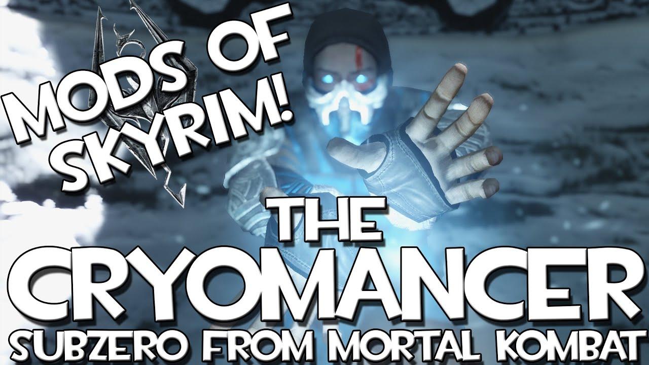 The Cryomancer - Mortal Kombat Sub-Zero Armor at Skyrim