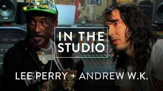 """Download Lee """"Scratch"""" Perry and Andrew WK - Repentance - In The Studio"""