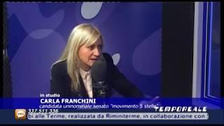 Elezioni 2018. I candidati a Tempo Reale: Carla Franchini (Movimento 5 Stelle) thumbnail