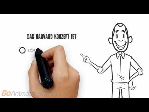 Das Harvard-Konzept YouTube Hörbuch Trailer auf Deutsch
