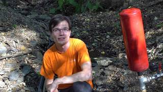 HOMEMADE 5/4'' Ram Pump - BEST HOMEMADE WASTE VALVE