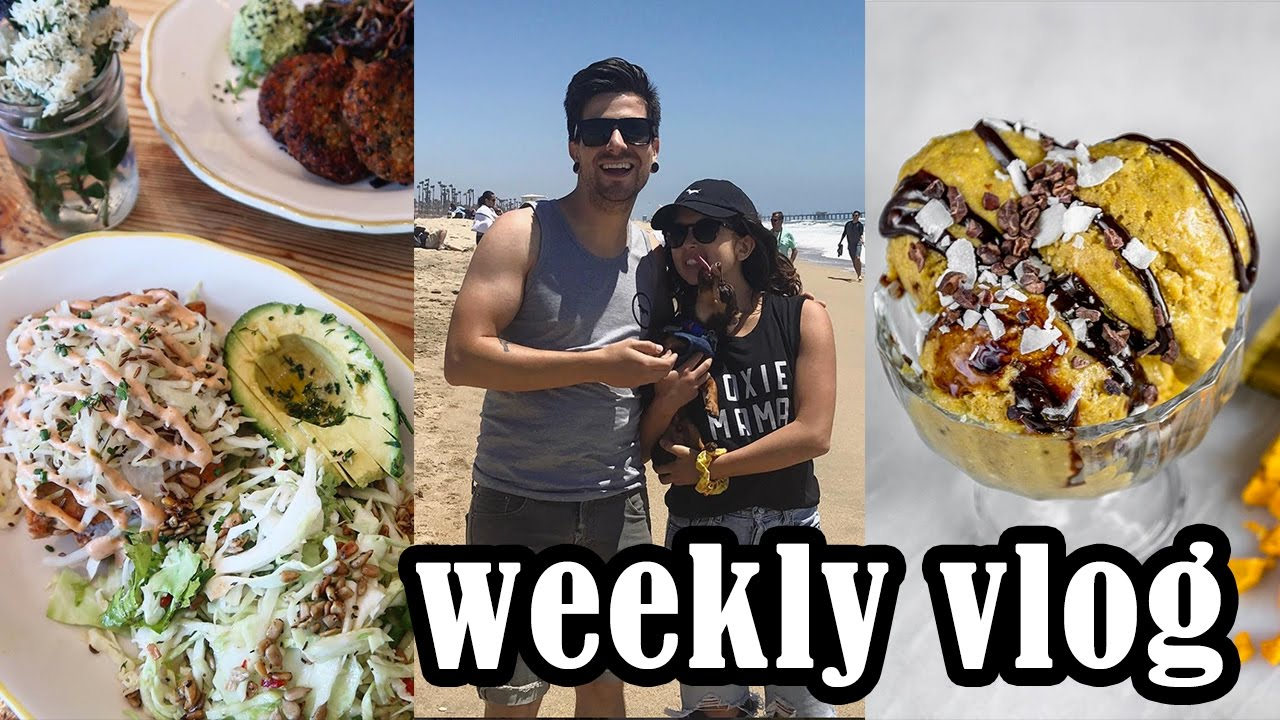Weenie Beach Day + Mail Time | Weekly Vlog