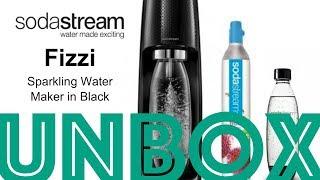 UNBOXING: SodaStream Fizzi Sparkling Water Maker - Black