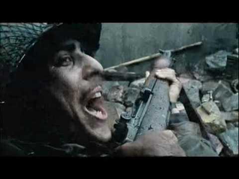Sniper war ( nice shot )