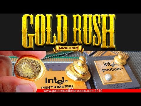 Gold rush season find gold resources near your home How to recycle electronics scrap gold stripper💰