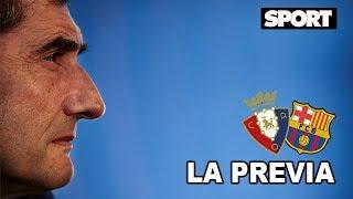 RUEDA DE PRENSA DE VALVERDE 🎙️ OSASUNA - FC BARCELONA: