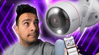 Sicherheitskamera mit Amazon Echo & Google ⁉️ EZVIZ CTQ3W Review