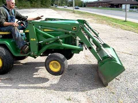 John Deere 430 with #44 Loader  YouTube