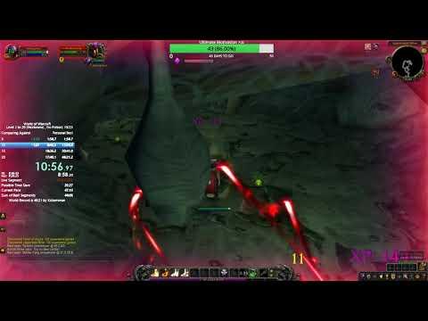 WoW Speed Lvling: 1-20 (w/Heirlooms) - 46:38