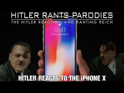 Hitler reacts to the iPhone X