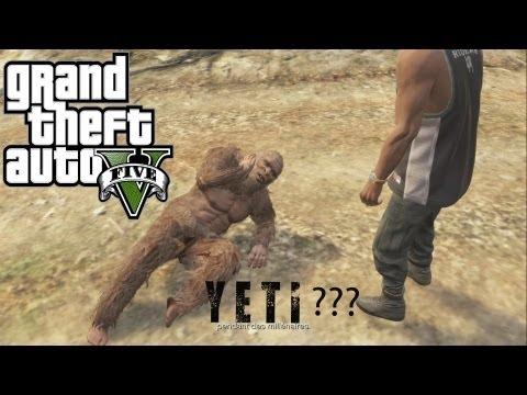 Un Bigfoot dans GTA 5 Mission secret (...