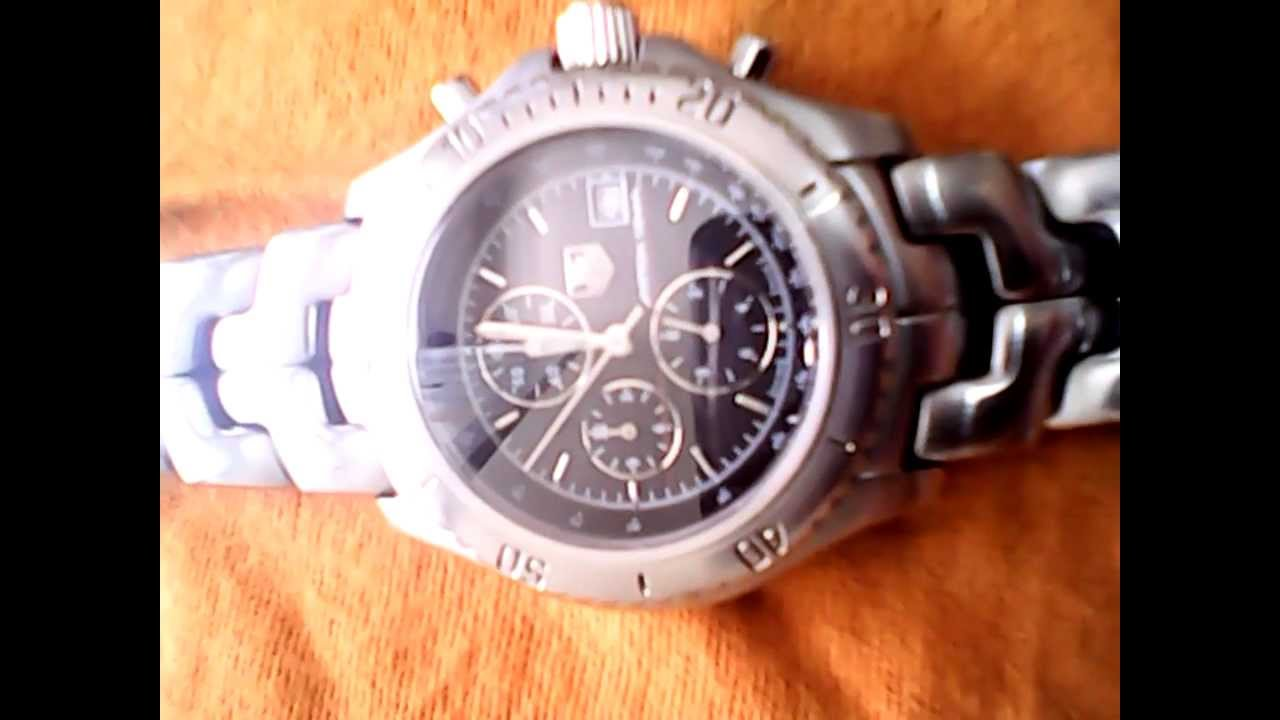 b54fcb39ace TAG HEUER AYRTON SENNA LIMITED EDITION - YouTube