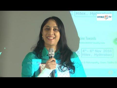 Suvarna Bhat  Director Health Energy - Ayushmax Expo 2016 - hybiz