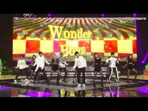 [HD] 111223 Wonder Boys & Wonder Girls - Be my baby