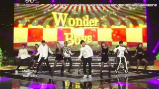 [HD] 111223 Wonder Boys & Wonder Girls - Be my baby