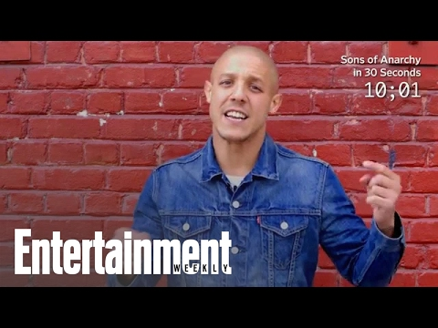 Sons Of Anarchy: Theo Rossi Explains Show In 30 Seconds | Entertainment Weekly