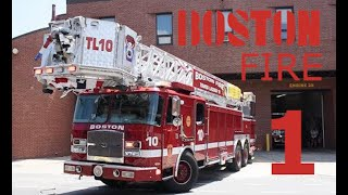 [WIKID RESPONSE COMPILATION] BOSTON FIRE DEPARTMENT RESPONDING THROUGH THE STREETS OF BOSTON