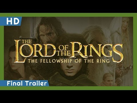 The Lord of the Rings: The Fellowship of the Ring trailers