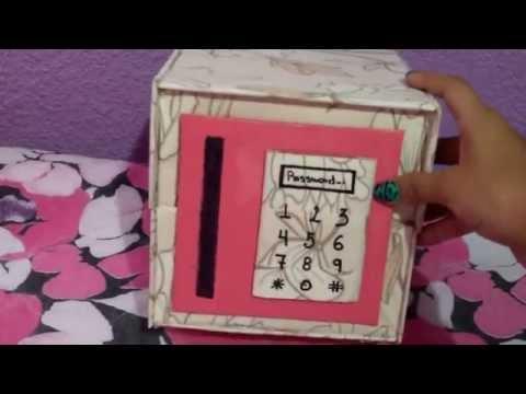 Como hacer una maquina de chicles que funcione doovi - Como adornar una caja de zapatos ...
